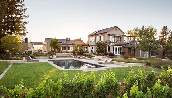 featured posts image for A chic wine country renovation with emphasis on entertaining