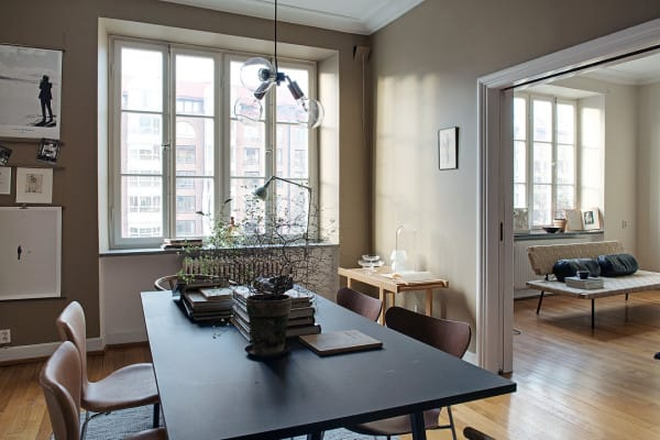 featured posts image for Charming Swedish apartment with exquisite details