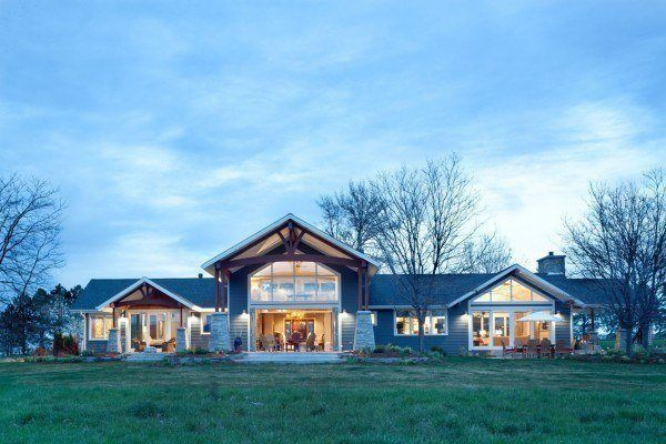 featured posts image for Transitional countryside property in Colorado radiates with style