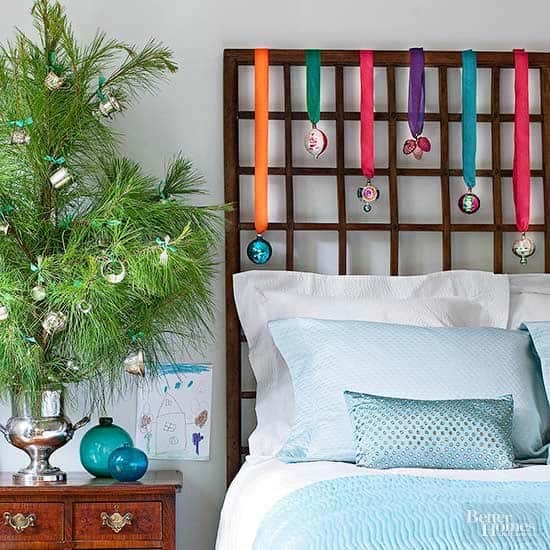 Christmas Bedroom Decorating Ideas-11-1 Kindesign