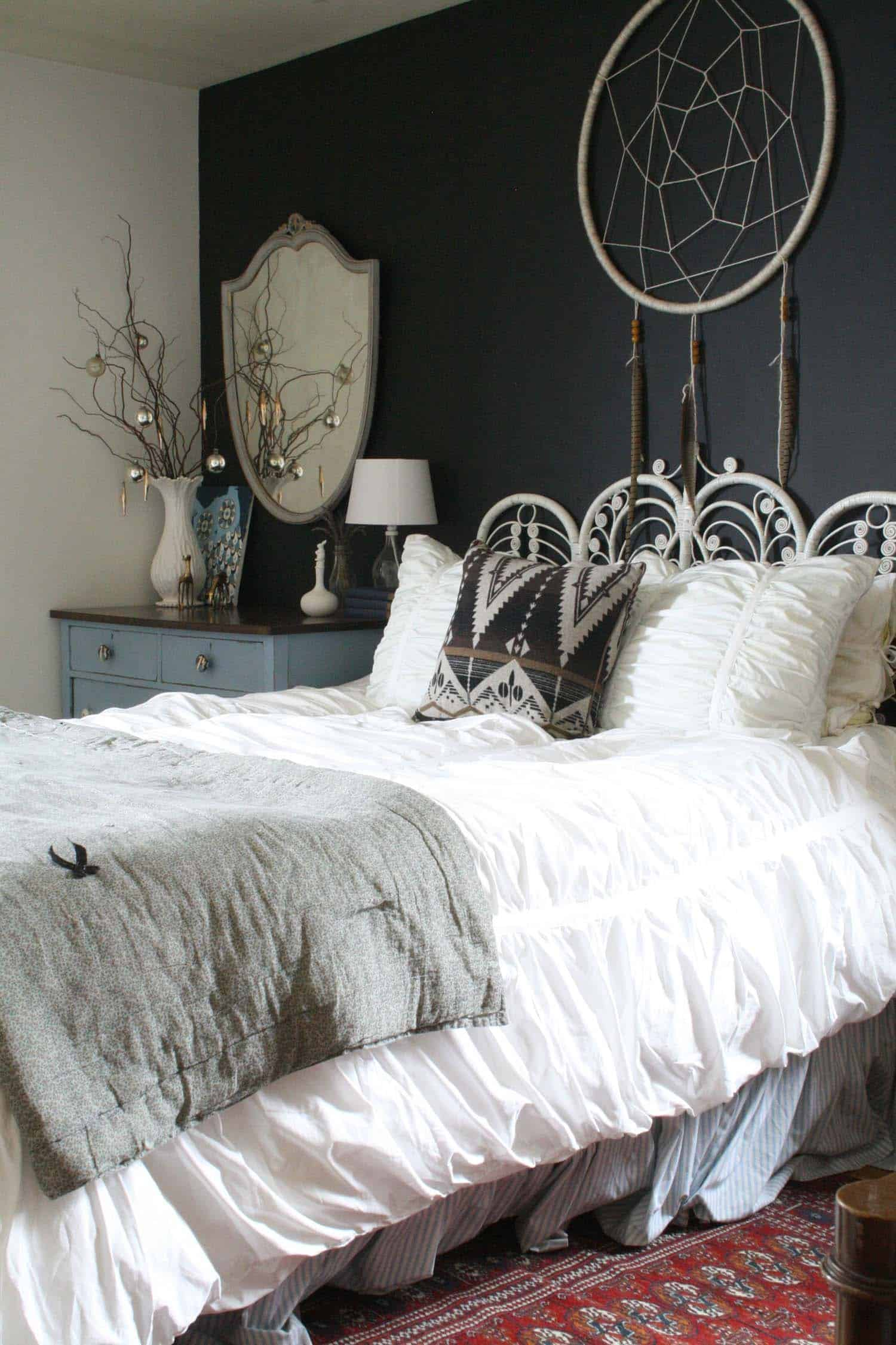 Christmas Bedroom Decorating Ideas-18-1 Kindesign