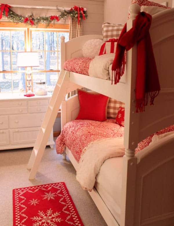 Christmas Bedroom Decorating Ideas-19-1 Kindesign
