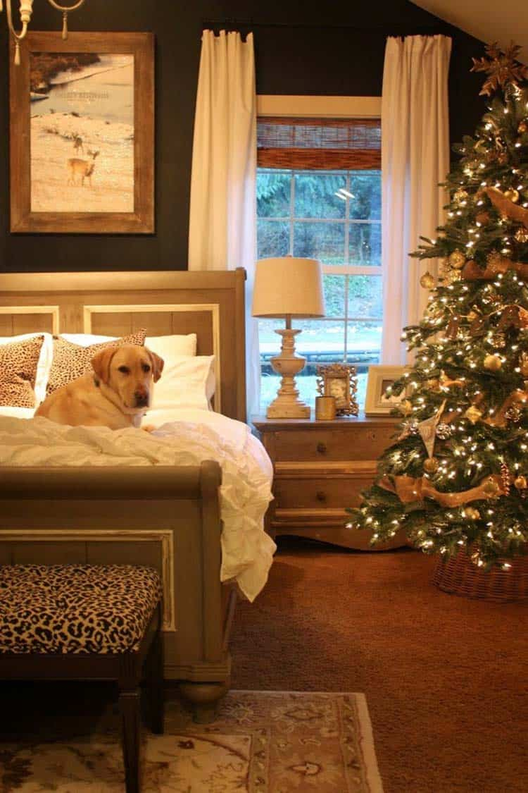 Christmas Bedroom Decorating Ideas-21-1 Kindesign