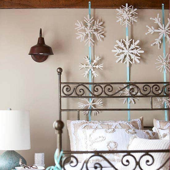 Christmas Bedroom Decorating Ideas-22-1 Kindesign