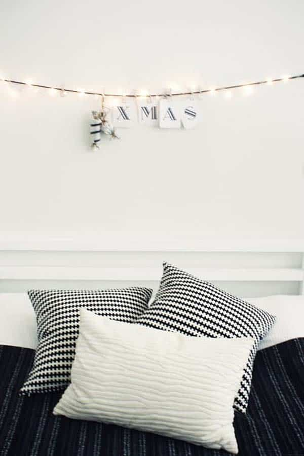 Christmas Bedroom Decorating Ideas-29-1 Kindesign