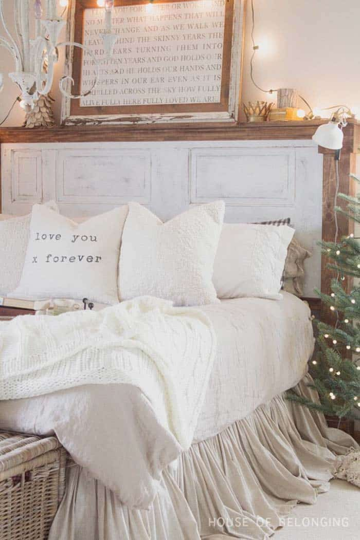 Christmas Bedroom Decorating Ideas-32-1 Kindesign