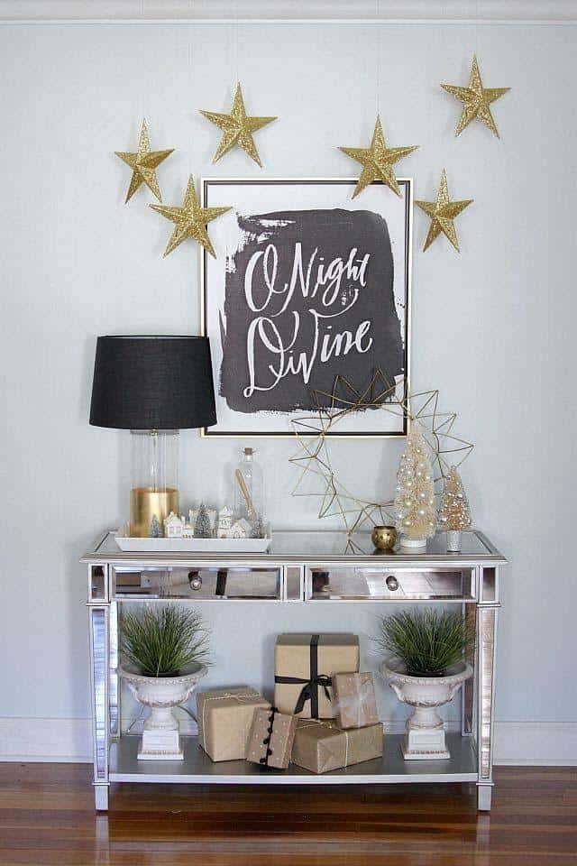 Christmas Decorated Spaces-07-1 Kindesign