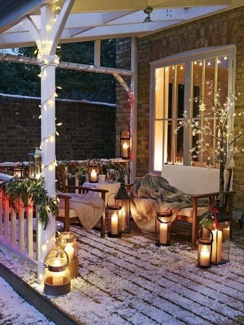 Christmas Decorated Spaces-17-1 Kindesign