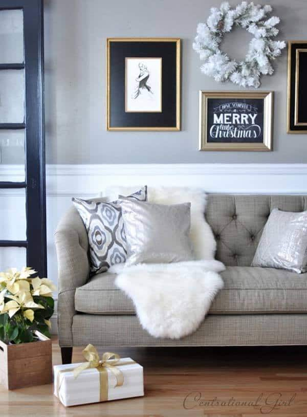 Christmas Decorated Spaces-23-1 Kindesign