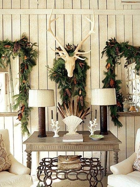Christmas Decorated Spaces-25-1 Kindesign