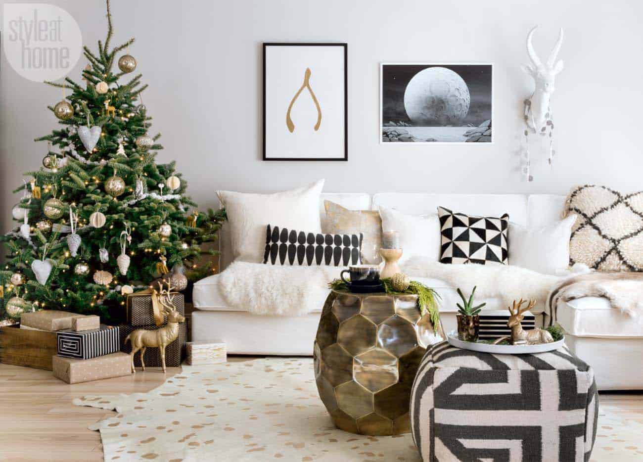 Christmas Tree Decoration Ideas-02-1 Kindesign