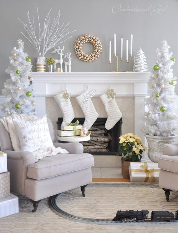 Christmas Tree Decoration Ideas-03-1 Kindesign
