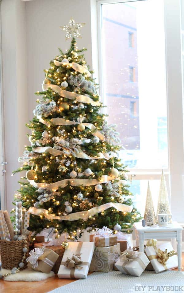 41 most fabulous christmas tree decoration ideas for Decoration xmas tree