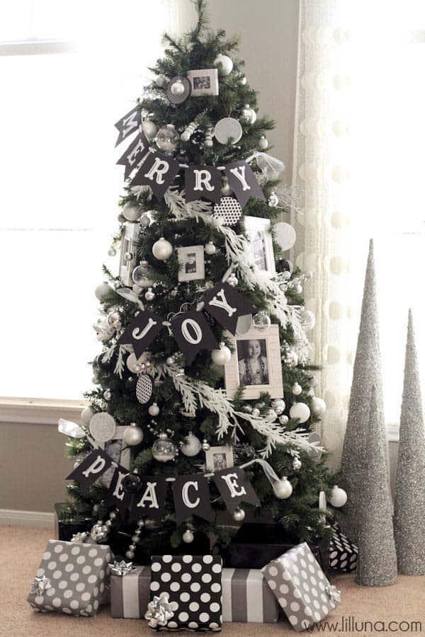 Christmas Tree Decoration Ideas-04-1 Kindesign
