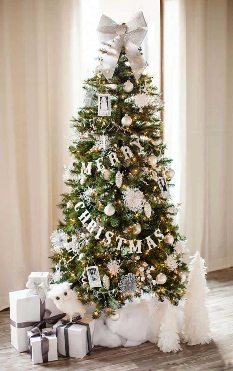Christmas Tree Decoration Ideas-06-1 Kindesign