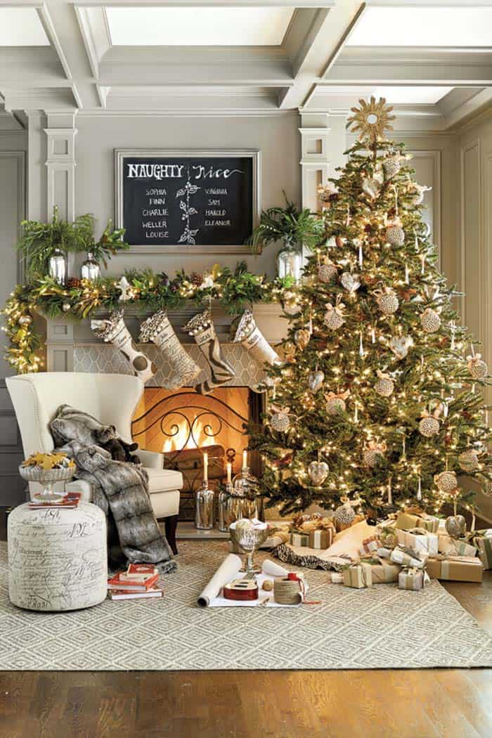 Christmas Tree Decoration Ideas-14-1 Kindesign