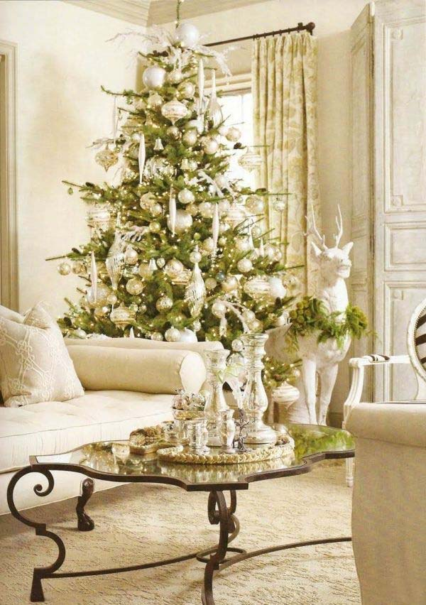 Christmas Tree Decoration Ideas-23-1 Kindesign