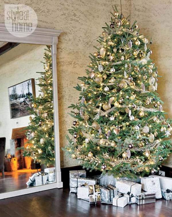 Christmas Tree Decoration Ideas-27-1 Kindesign
