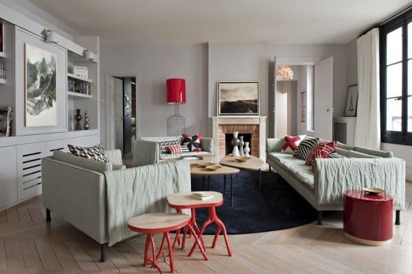 featured posts image for Parisian apartment showcasing a stylish color palette