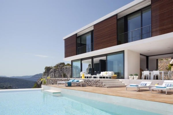 featured posts image for Mountainside Mallorca home showcases mesmerizing sea views