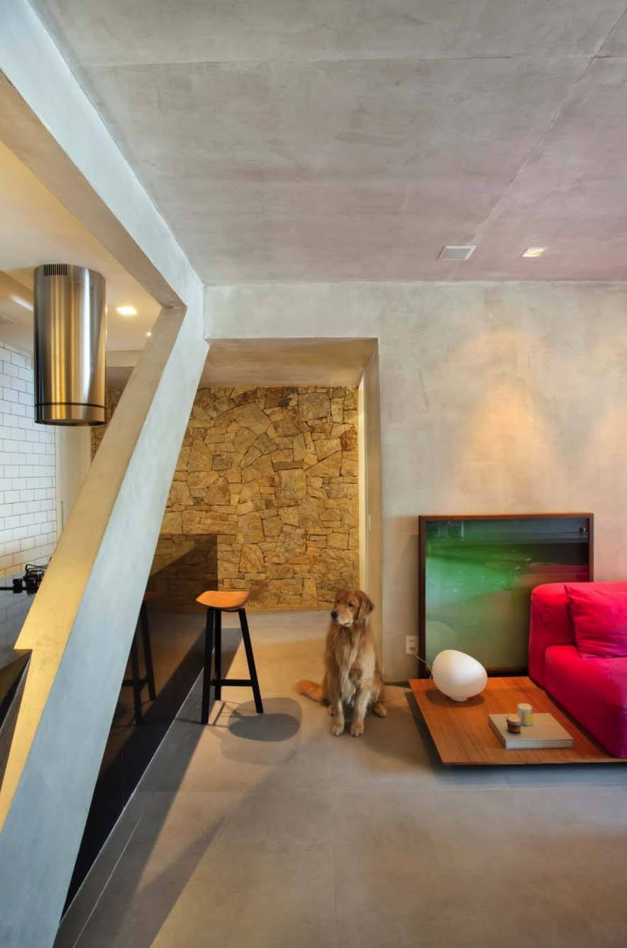 Modern Concrete Apartment-Studio-roca-05-1-Kindesign