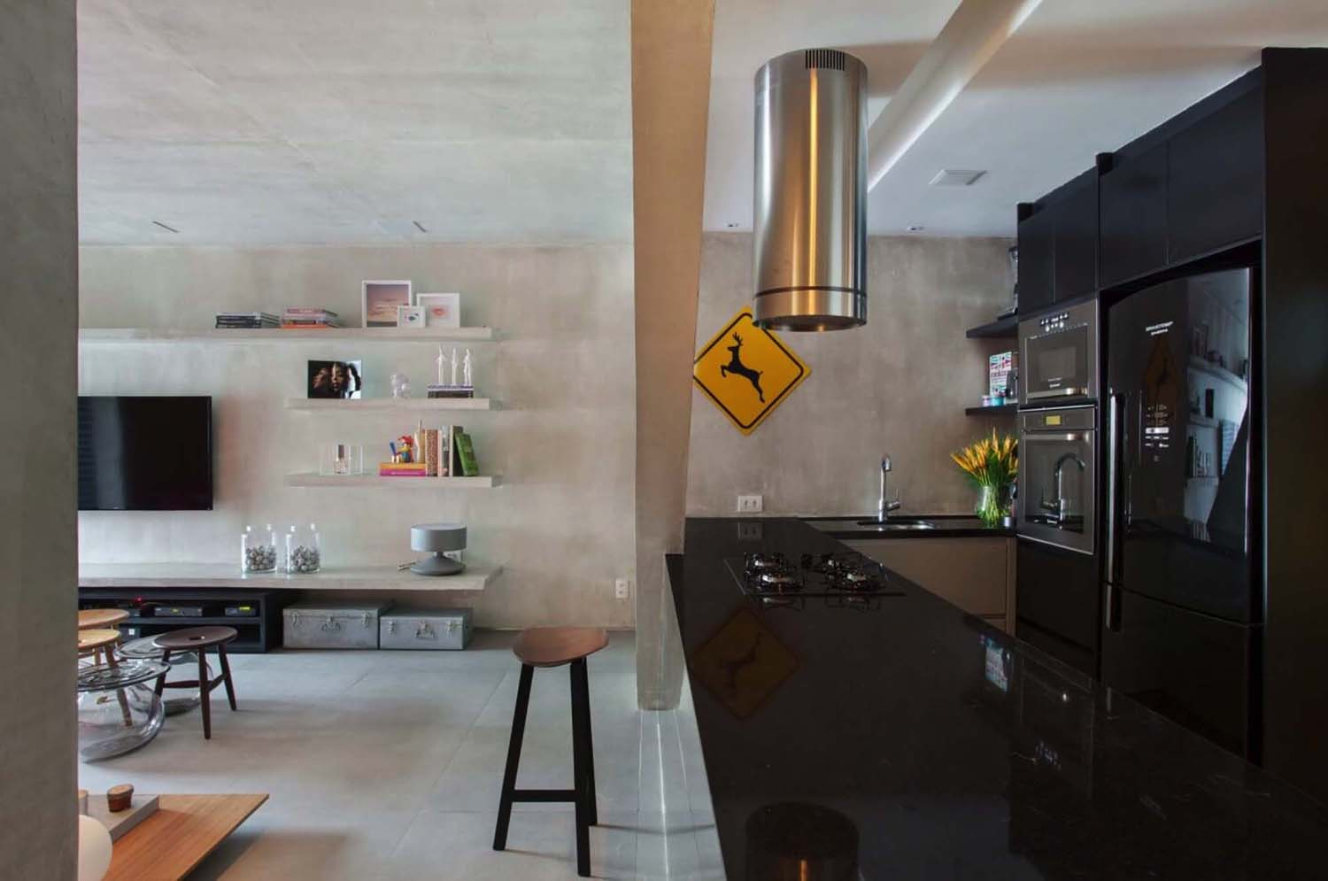 Modern Concrete Apartment-Studio-roca-08-1-Kindesign