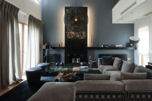 featured posts image for An Athens home showcases dark and moody interiors