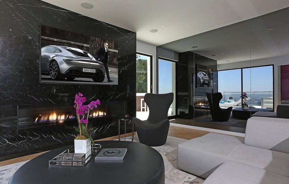 Modern Hollywood Hills Dream Home-09-1 Kindesign