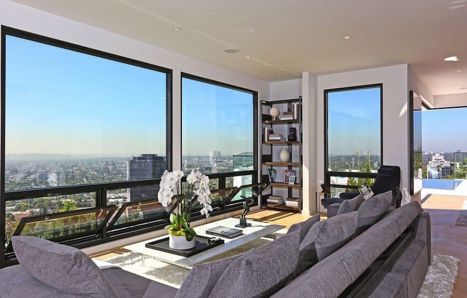 Modern Hollywood Hills Dream Home-11-1 Kindesign