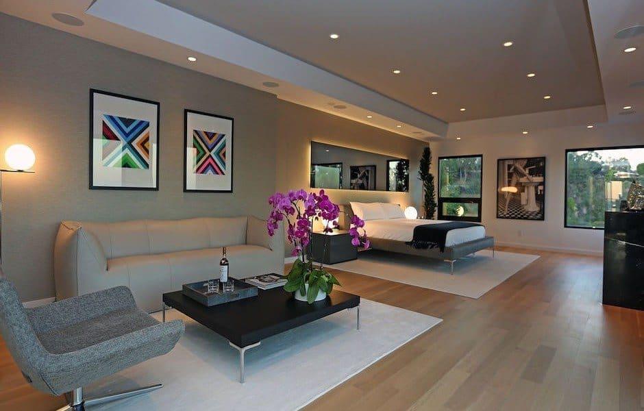 Modern Hollywood Hills Dream Home-12-1 Kindesign
