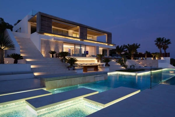featured posts image for Spectacular modern dream home on the island of Ibiza