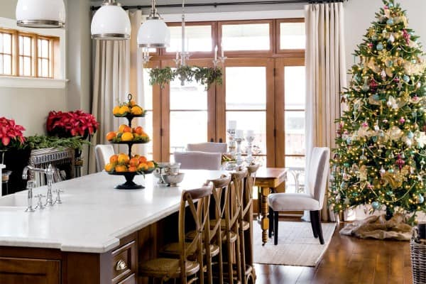 featured posts image for A Canadian home styled for Christmas with natural elements