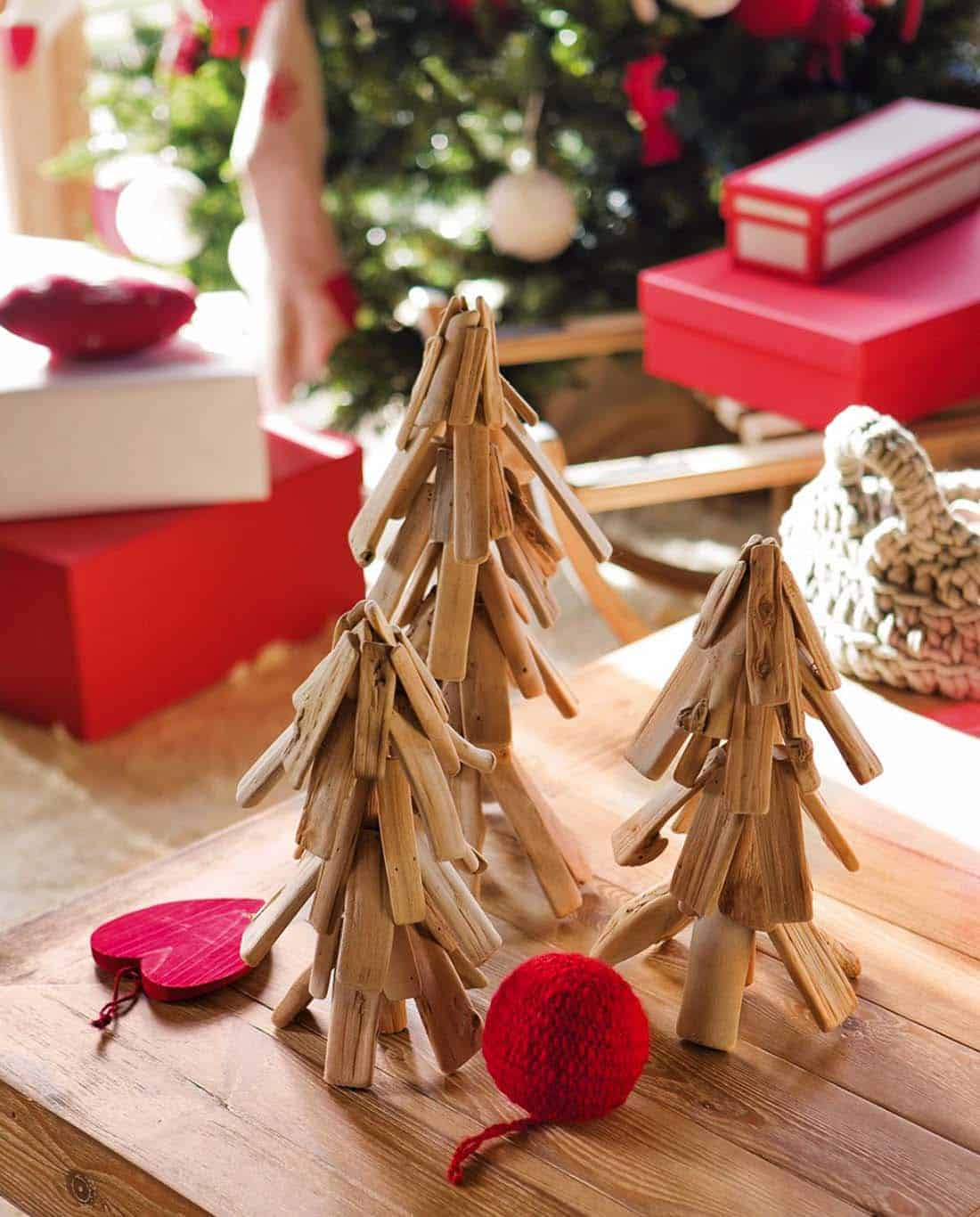 Nordic Style Christmas Decorated Home-10-1 Kindesign