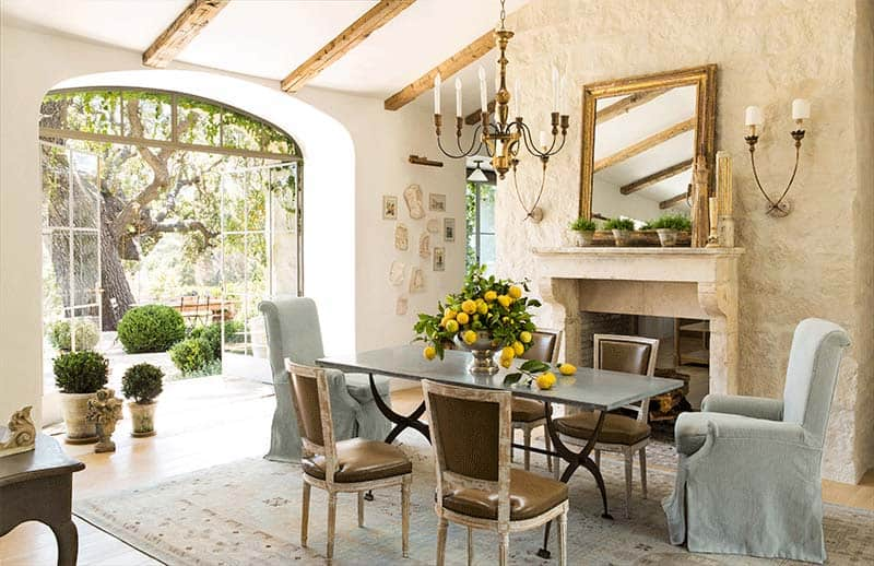 Provencal Style Home-Giannetti Home-004-1 Kindesign