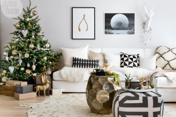 featured posts image for Christmas home in Ontario infused with Scandi-chic style