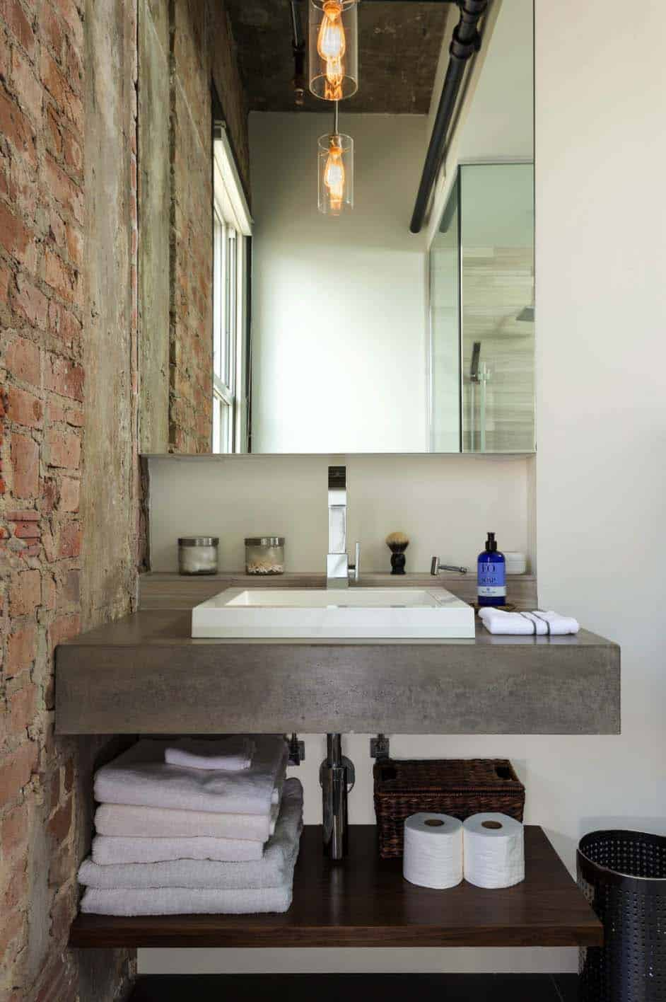 Concrete Bathroom Designs-06-1 Kindesign