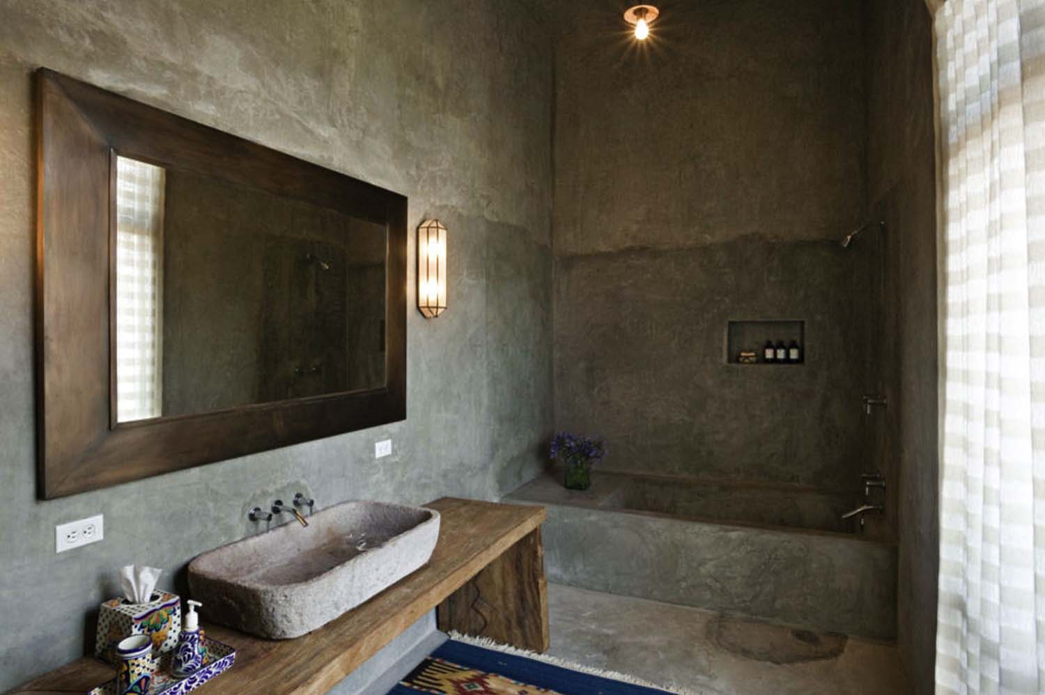 Concrete Bathroom Designs-07-1 Kindesign