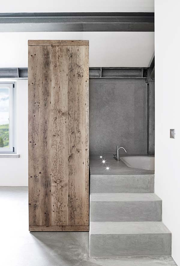 Concrete Bathroom Designs-13-1 Kindesign