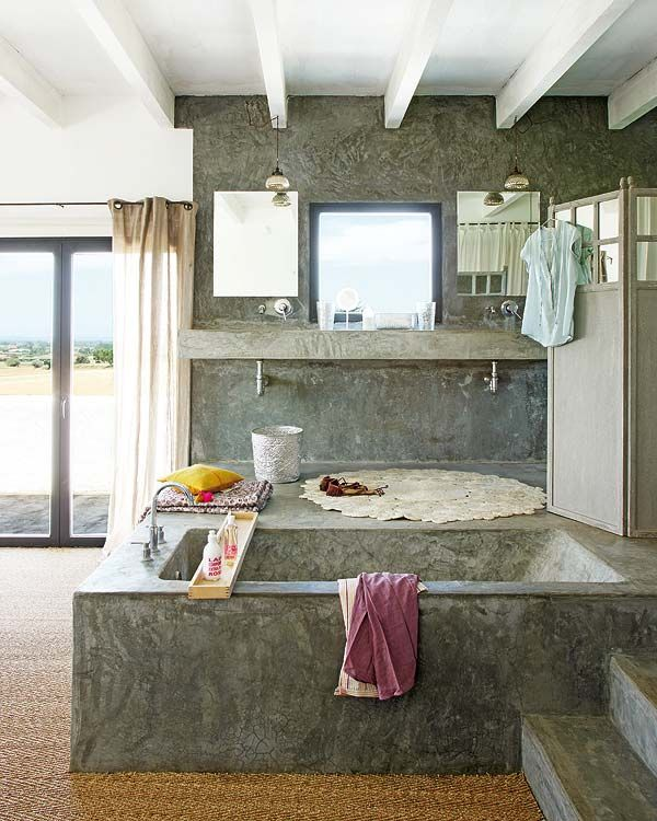 Concrete Bathroom Designs-27-1 Kindesign