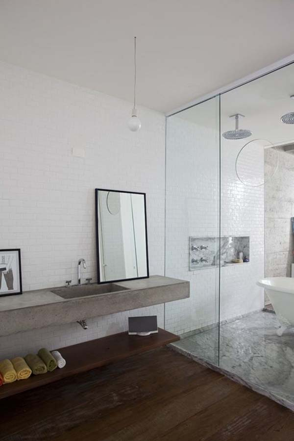 Concrete Bathroom Designs-28-1 Kindesign