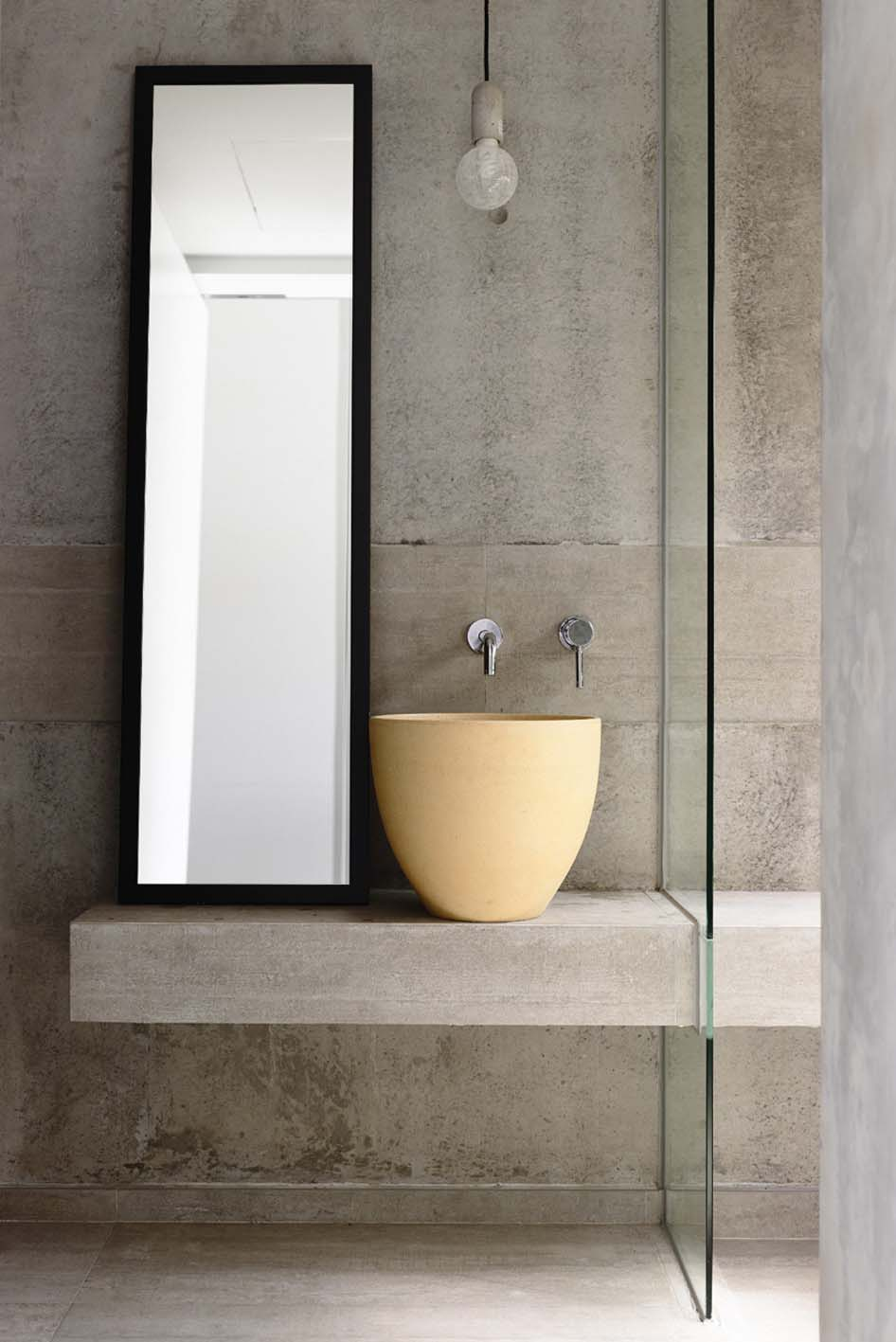 45 magnificent concrete bathroom design inspirations for 30 bathroom ideas