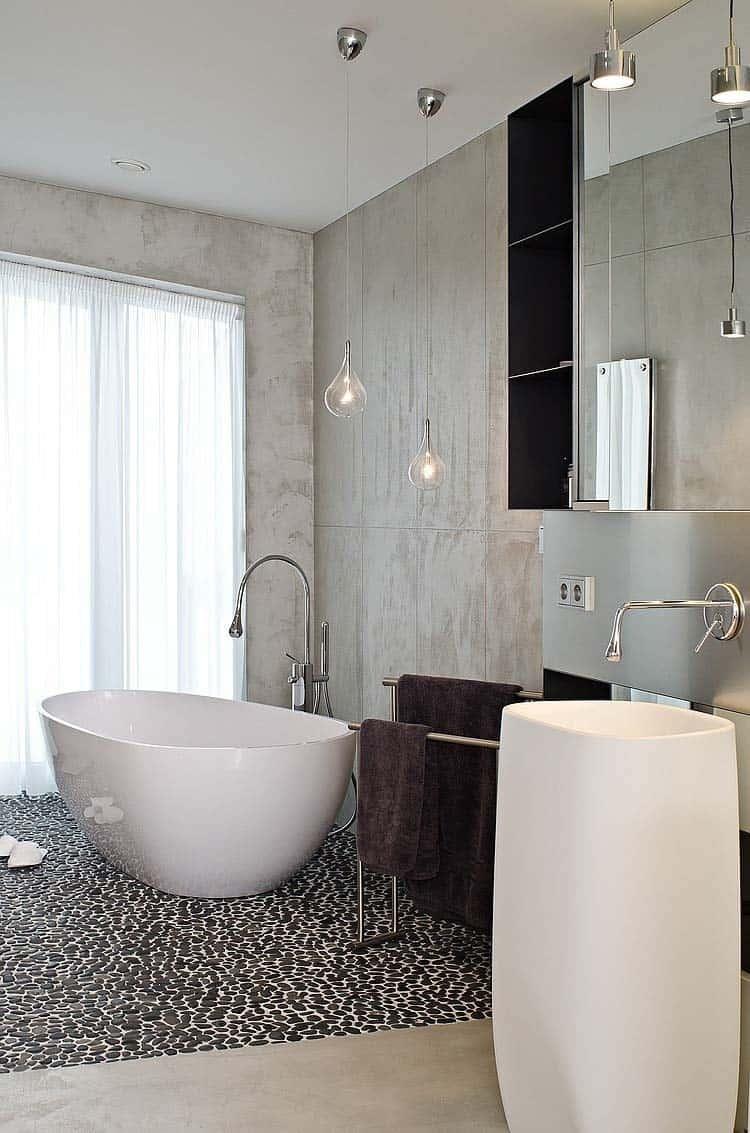 Concrete Bathroom Designs-33-1 Kindesign