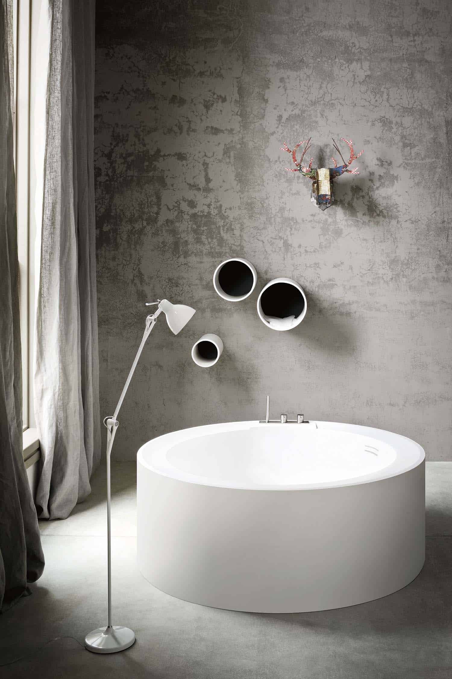 Concrete Bathroom Designs-35-1 Kindesign