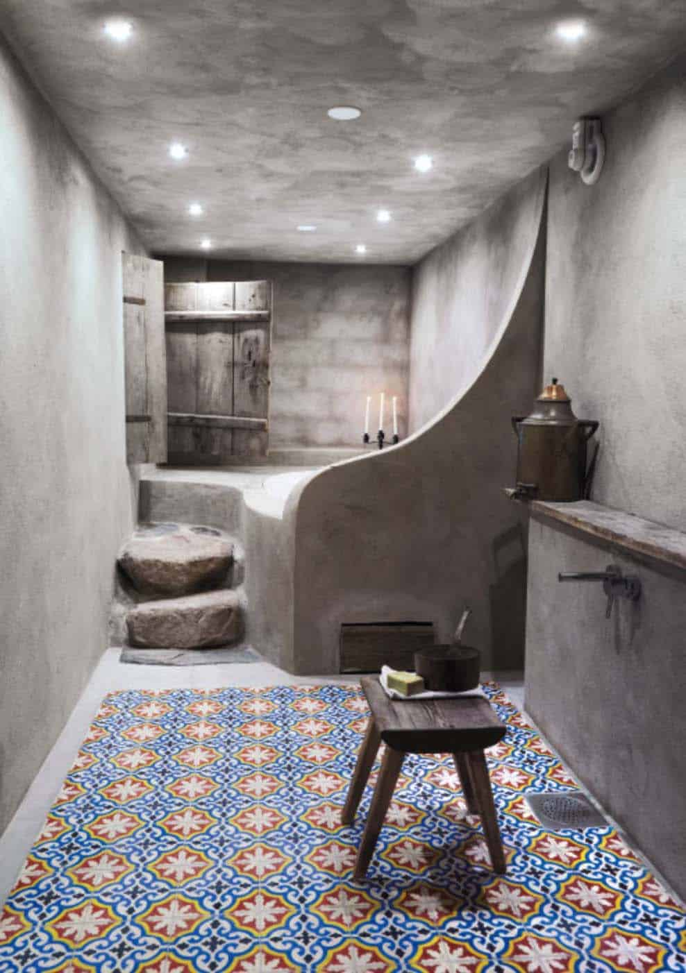 Concrete Bathroom Designs-37-1 Kindesign