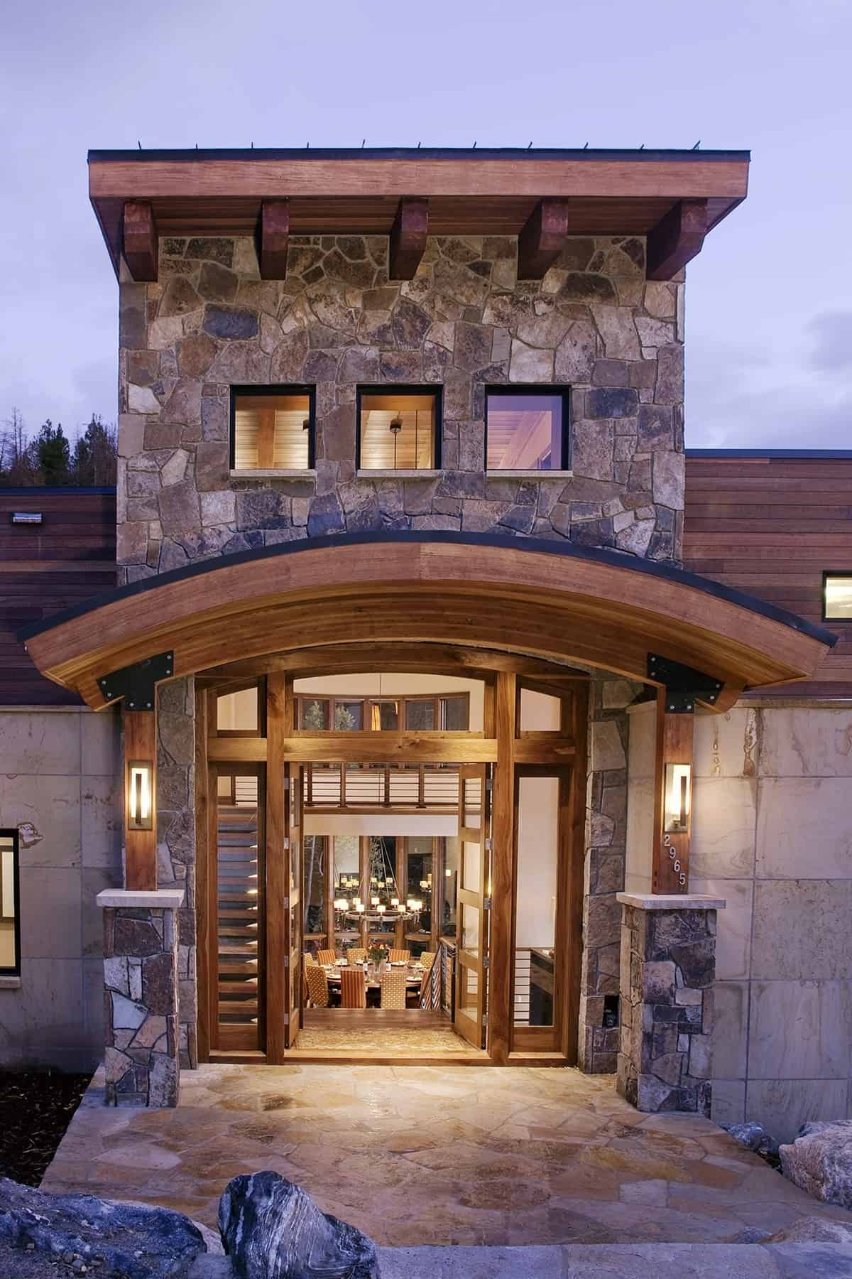 Contemporary Mountain Home-Kelly and Stone Architects-04-1 Kindesign