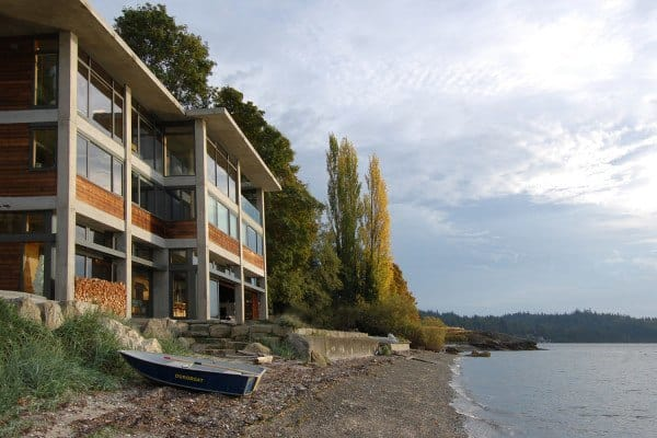 featured posts image for Cliffside dream home offers waterfront views of Bellingham Bay
