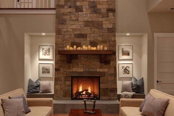 featured posts image for 44 Ultra cozy fireplaces for winter hibernation