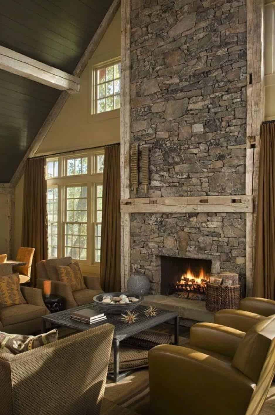 Cozy Fireplace Ideas-08-1 Kindesign