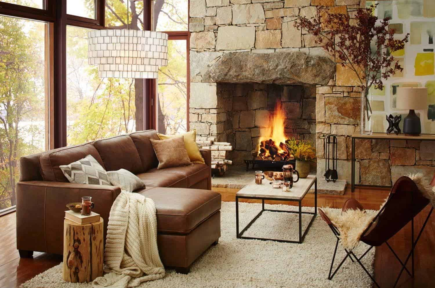 Cozy Fireplace Ideas-14-1 Kindesign