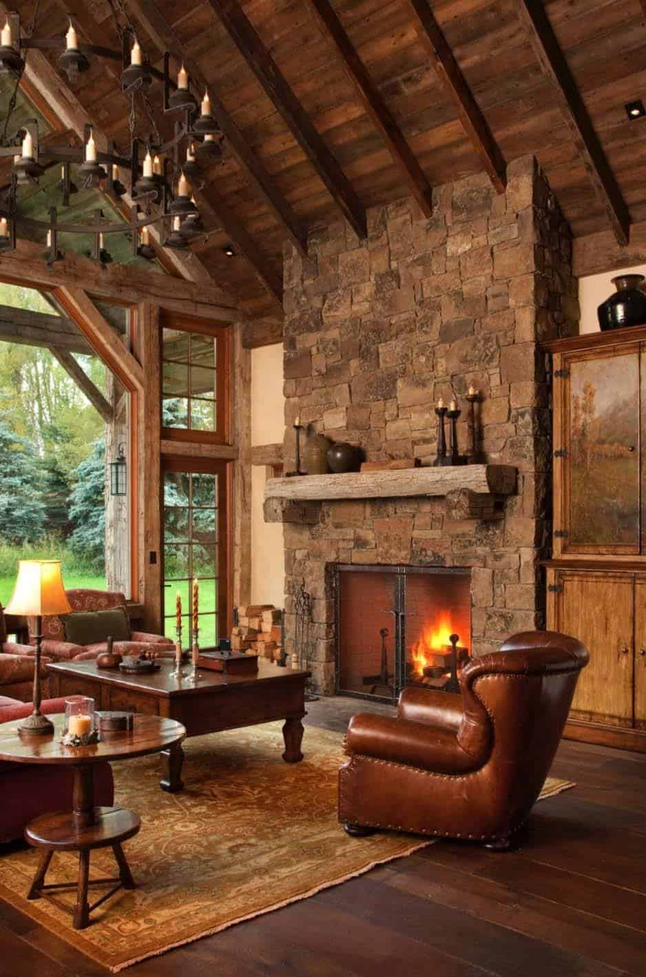 Cozy Fireplace Ideas-42-1 Kindesign